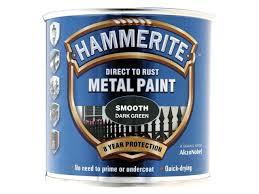 hammerite paint dark green