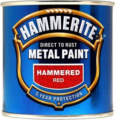 hammerite paint hammered red