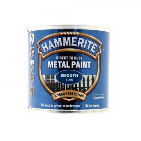 hammerite paint smooth blue